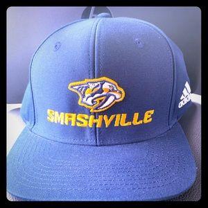 Nashville Preditors Hat Smashville Navy. NEW!!